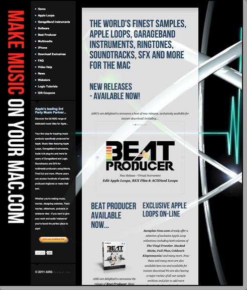 Apple Loops, GarageBand Ints, iPhone Ringtones, SFX